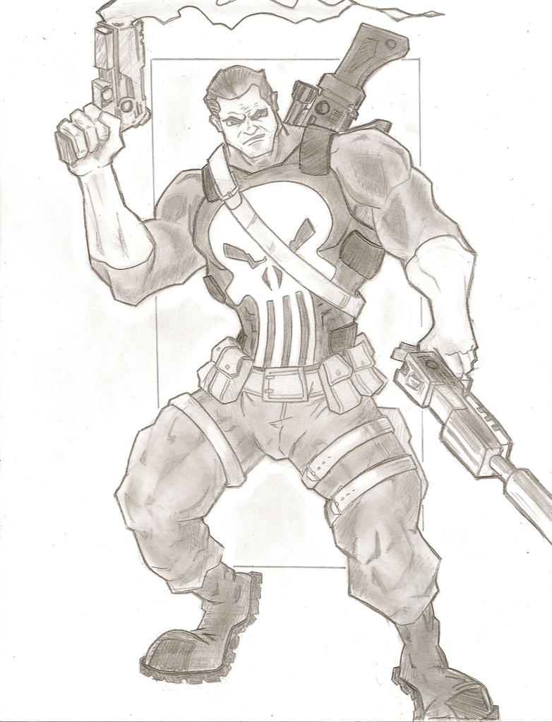 The Punisher by stipher30