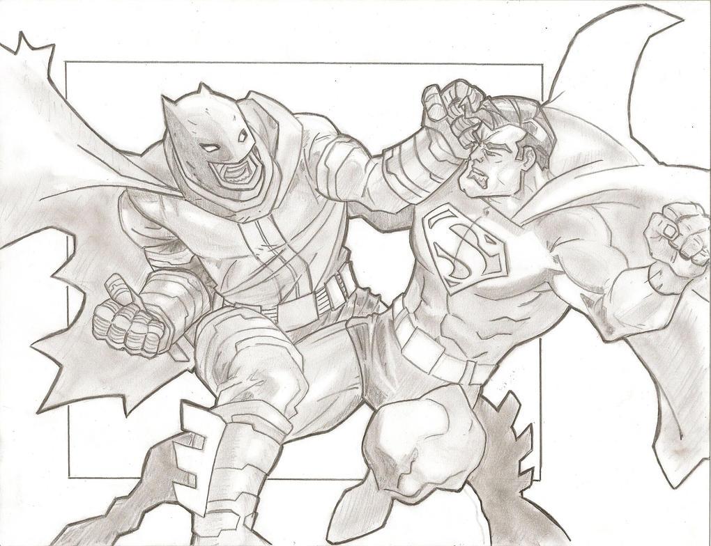 Batman vs. Superman by stipher30