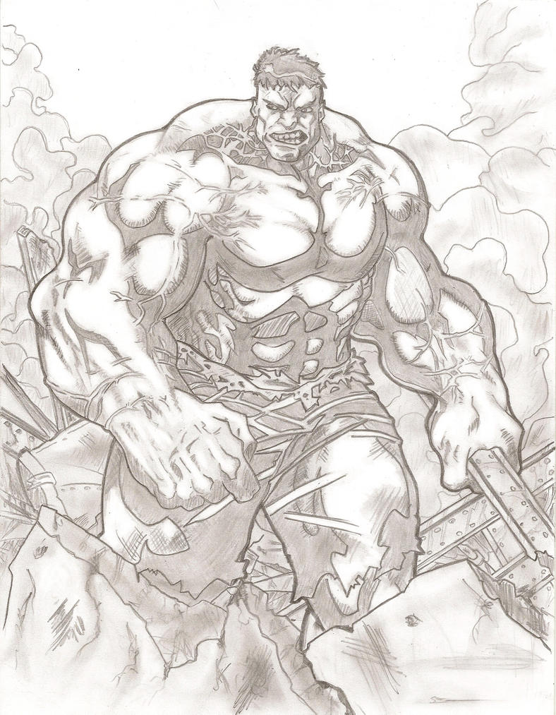 The Incredible Hulk by stipher30