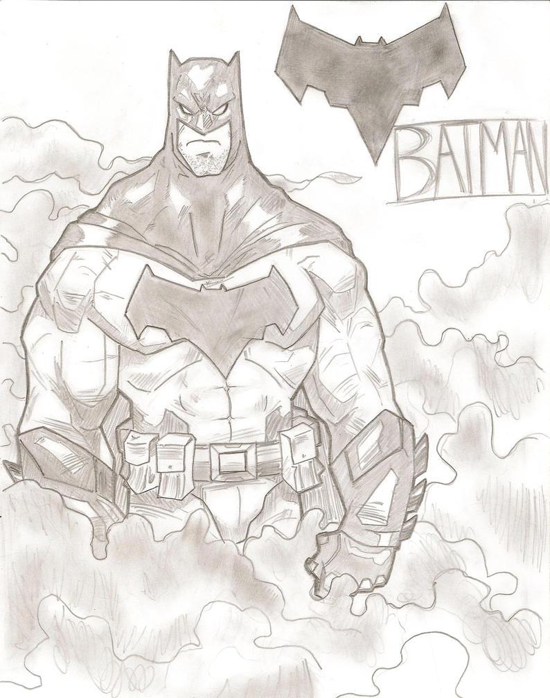 Batman by stipher30