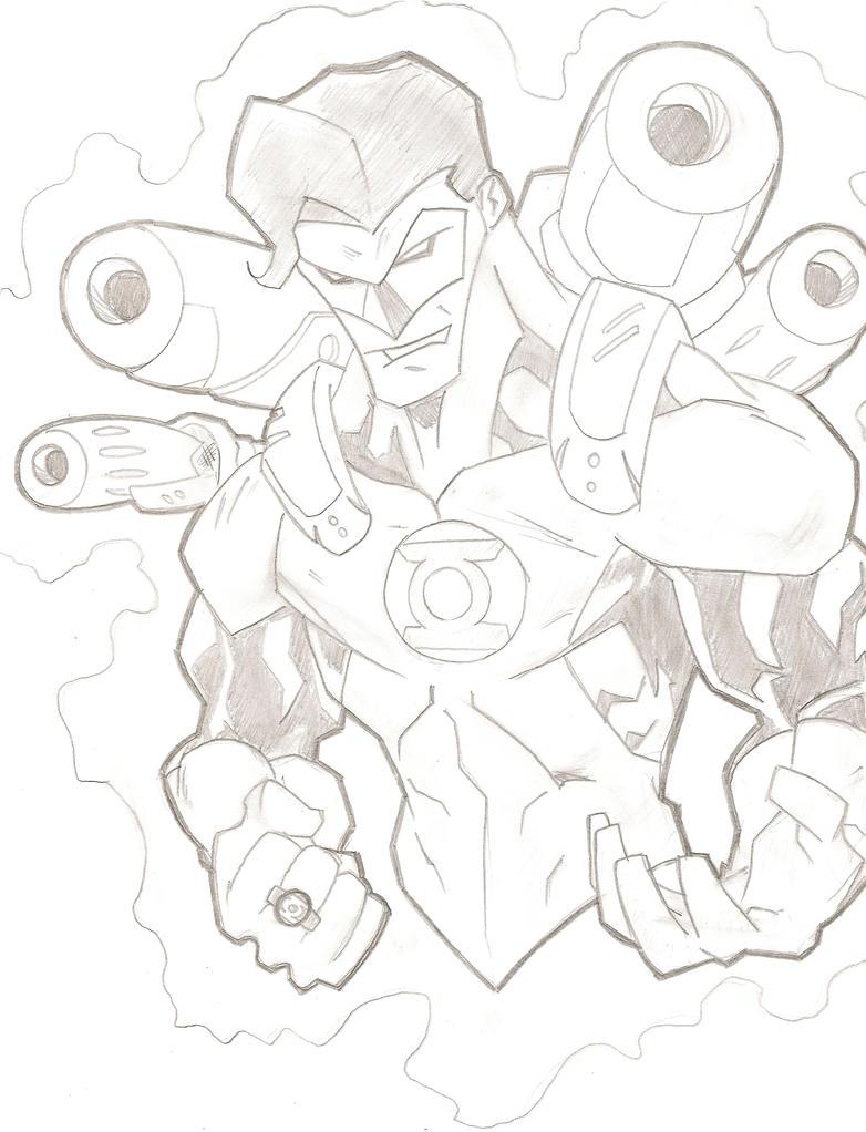 Green Lantern by stipher30