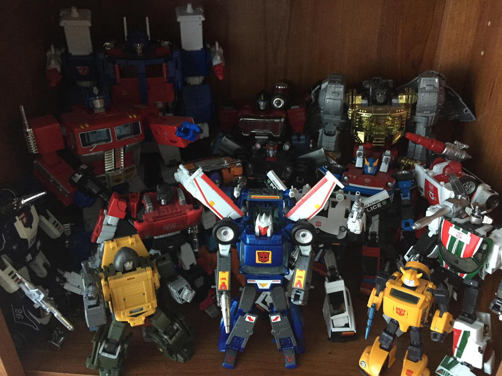 Updated Masterpiece Collection - Autobots by stipher30
