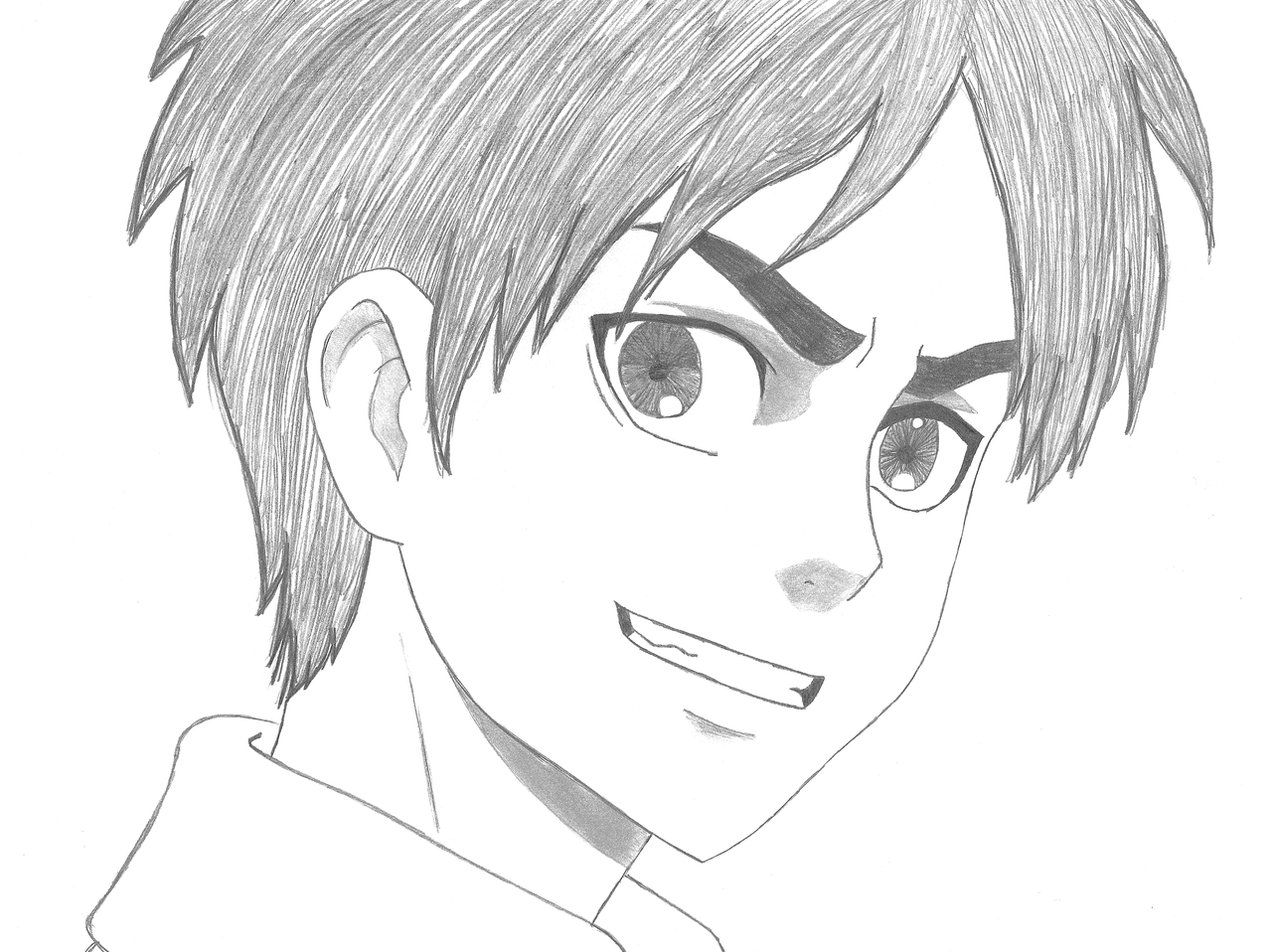 Eren jaeger drawing - photo#29