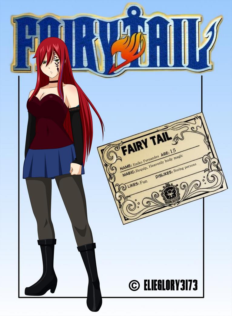 Fairy Tail OC [Next Generation] - Emiko Fernandes by ElieGlory3173