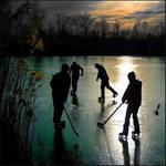 Sun on ice by AniMal-e
