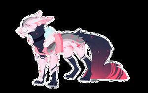 [closed] OTA | Pink doggo adopt by Rotten-moron