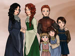 Stark Children - Genderbent