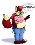 Demanding Fat Vixen!