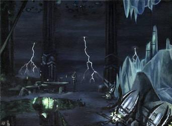 Waiting for lightnings by JohannesVIII