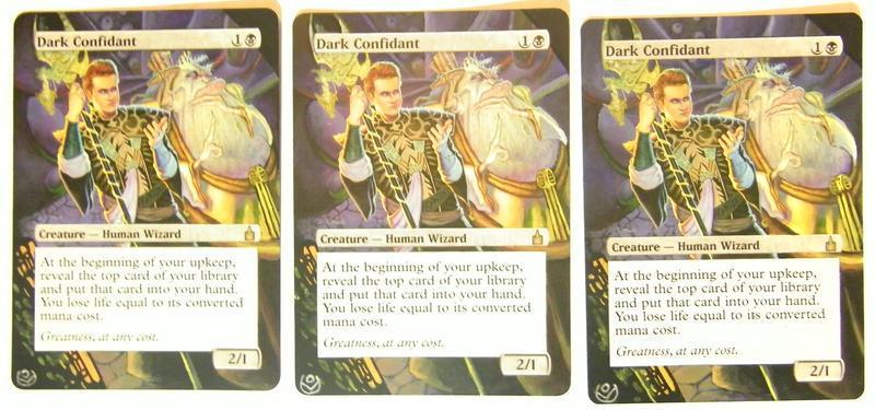 Altered cards - Dark c...
