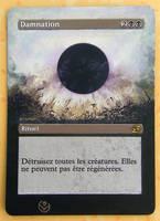 Altered card - Damnation by JohannesVIII