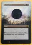 Altered card - Damnation