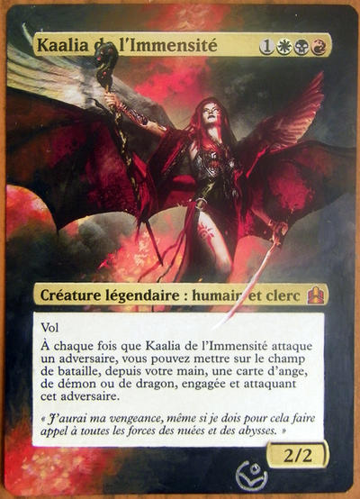 Altered card - Kaalia by JohannesVIII