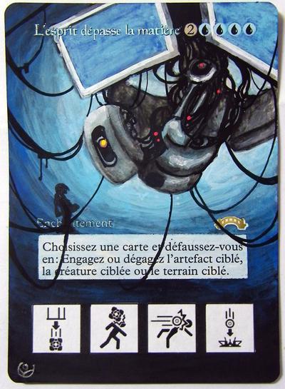 Altered card - Mind over matter by JohannesVIII