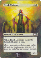 Altered card - Elvish Visionary by JohannesVIII