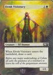 Altered card - Elvish Visionary
