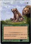 Altered card - Bear cub