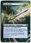 Altered card - Godsend