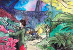 TARDIS garden