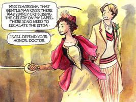 Five meets Julie d'Aubigny by JohannesVIII