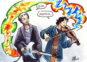 Temporal Duet by JohannesVIII