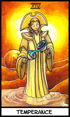 Tarot card - Romana