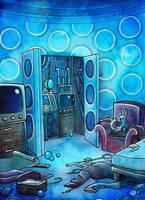 Custom TARDIS - Console room by JohannesVIII