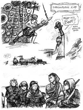 Mad Max Fury Road doodles