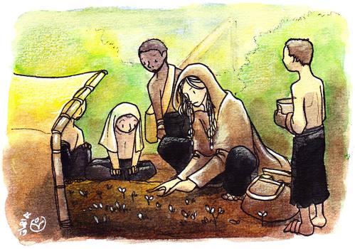 The Dag Teaches Agriculture