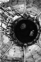Inktober - Space Travelers - 29/31