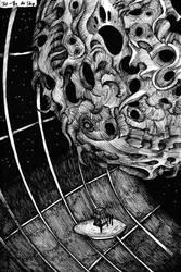 Inktober - Space Travelers - 30/31
