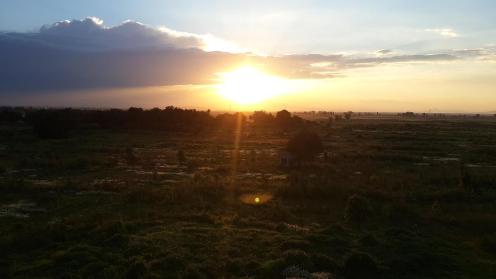sunset by Akumeno