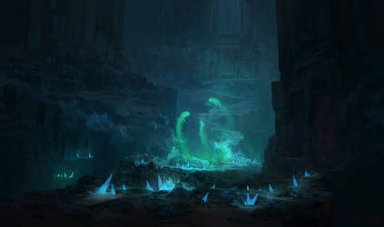 Crystal Spirits by CaffeTylo