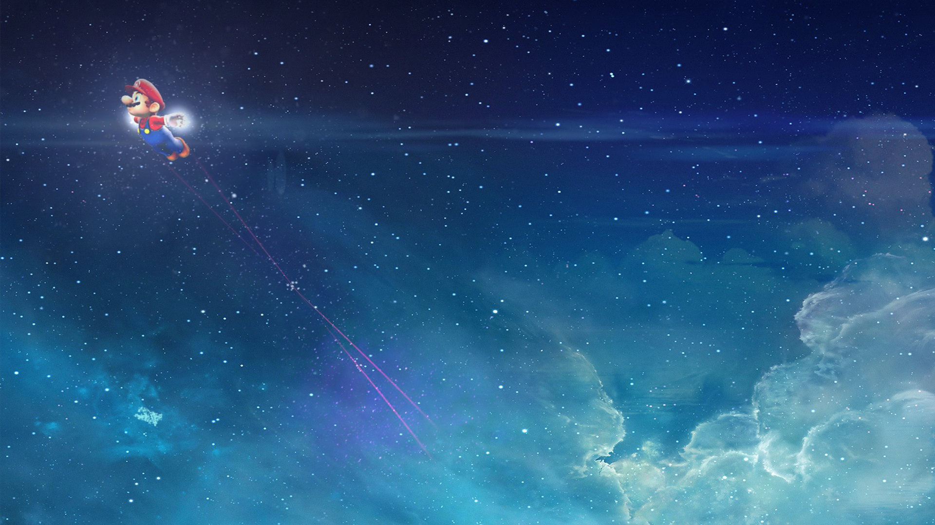 Super Mario Galaxy Redux Wallpaper By Supabloopa On Deviantart