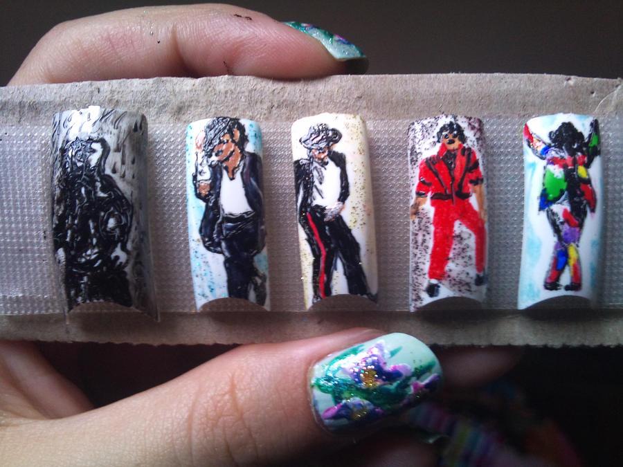 Michael Jackson Nail Art By Amanda04 On Deviantart