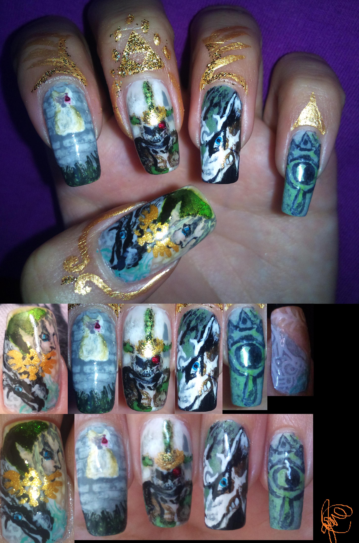 The Legend Of Zelda Heros Shade Nail Art By Amanda04 On Deviantart