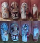 The Chronicles of Narnia nail art