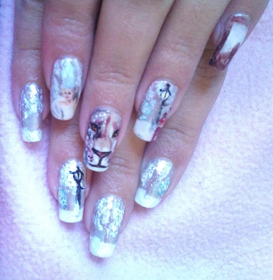 The Chronicles of Narnia nail art 2 by amanda04 on DeviantArt