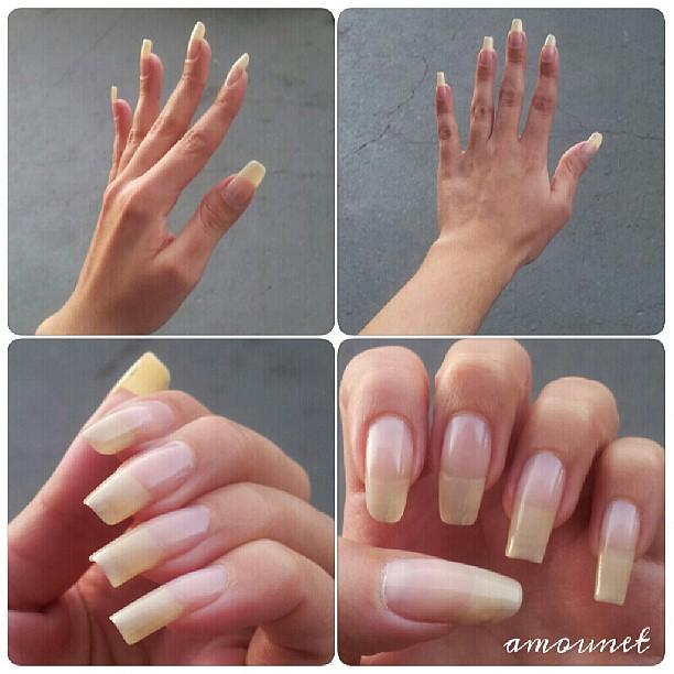 Natural Long Nails Tumblr Natural nails by amanda04