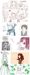 Sketch Dump 01 by YukiChanMadness