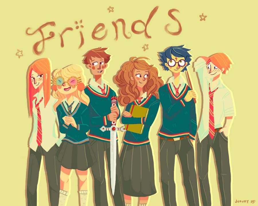 friends by jununy