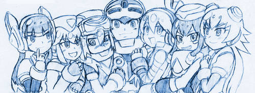 Mighty No.9 - Why Not All of the Calls?