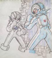 Dwabble: MegaMan and MegaManDS (2)