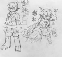 Mega Man Ice Soul concept