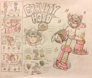 Gravity Hold - Mega Man 11 Style