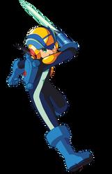 MegaMan.EXE Sword Action