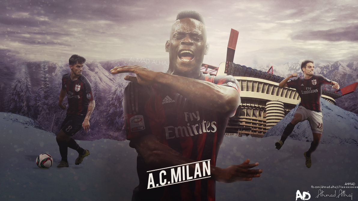 ACMilan Wallpaper By Ahmad12Alhaj