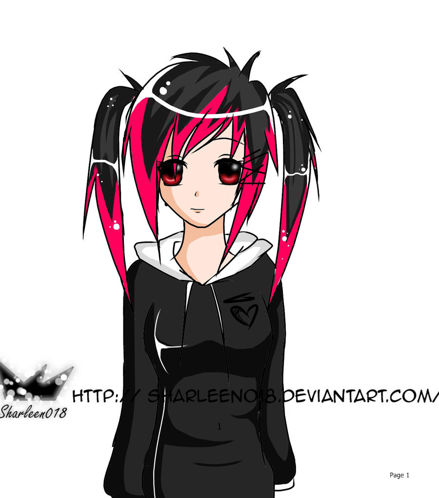 Emo anime girl by sharleen018 on deviantart emo anime girl by sharleen018 emo anime girl by sharleen018 voltagebd Choice Image