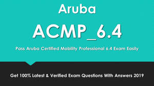 ACMP_6.4 New Questions Dumps - Hidden Benefits by haydenwithnell1