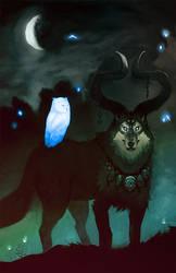 The Buck Wolf by Jayto